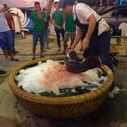 Cá mú nghệ 23kg