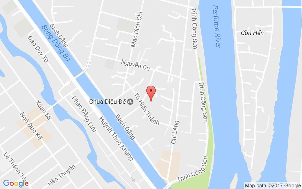 Vị trí bản đồ Chợ Đèn - Tô Hiến Thành ở Huế