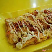 Bánh mỳ nướng muối ớt siêu ngon