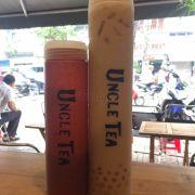 Chai vừa: Trà sữa kung-fu vs thạch/ Chai lớn: Trà sữa trân châu (2 loại trân châu)