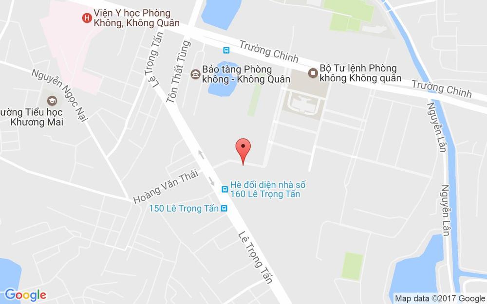 Vị trí bản đồ 42 Lê Trọng Tấn Quận Thanh Xuân Hà Nội