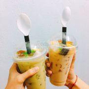 Trà sữa thái xanh & trà sữa đào