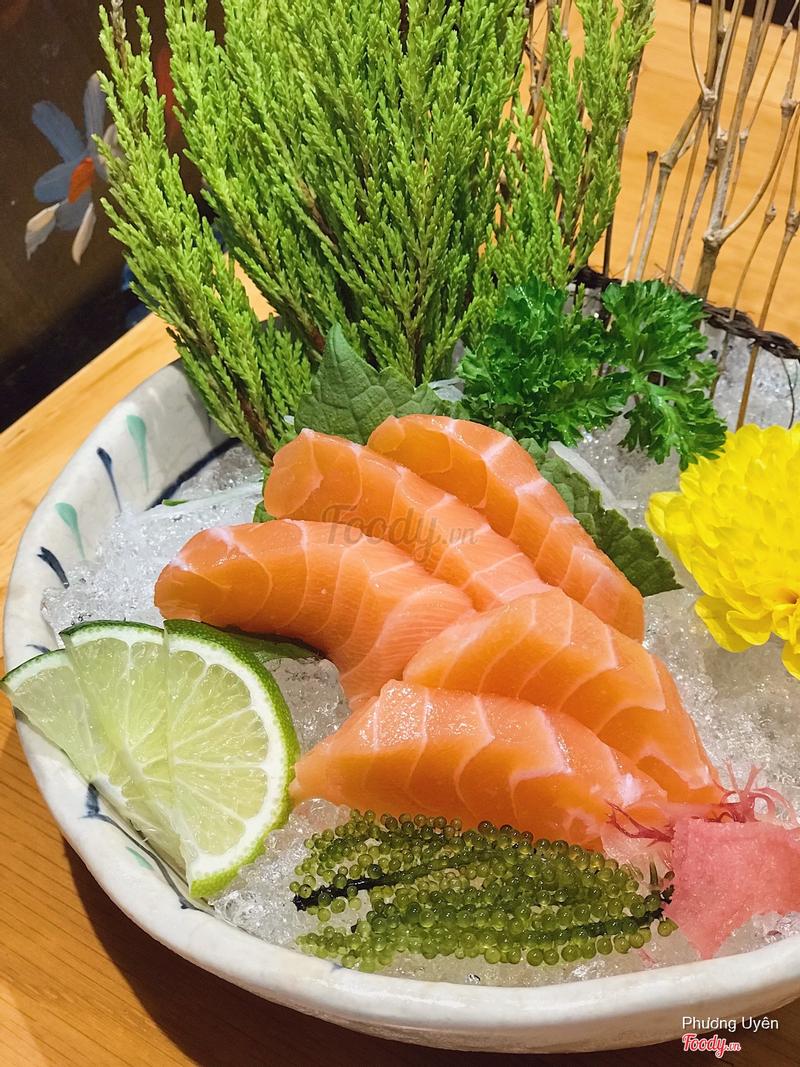 Sashimi cá hồi (79k)