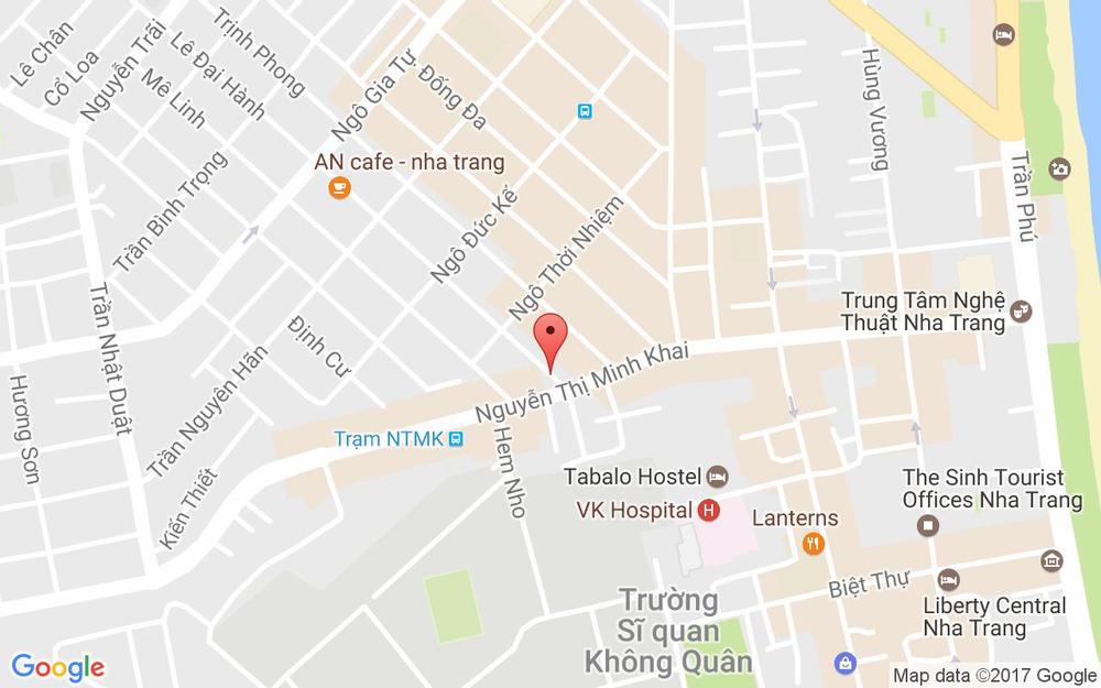 Vị trí bản đồ 79 Lê Đại Hành Tp. Nha Trang Khánh Hoà