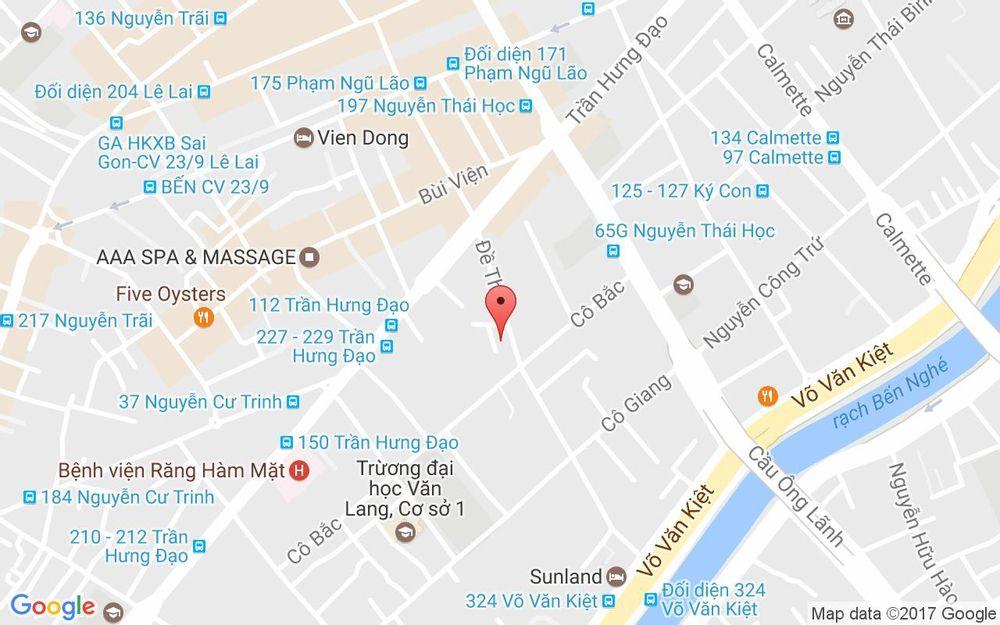 Vị trí bản đồ Bún Thịt Nướng Kiều Bảo 3 ở TP. HCM