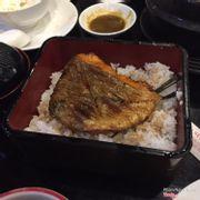 Cơm cá hồi sốt