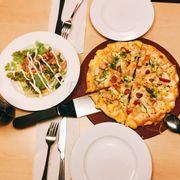 Combo 1 pizza viền đôi