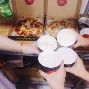 Order pizza hut giao khi vẫn còn nóng phô mai ko bị cứng