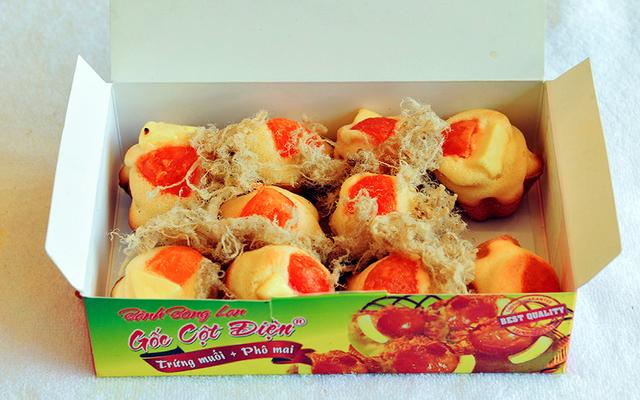 Bánh Kẹp Gốc Cột Điện - Bánh Bông Lan Trứng Muối