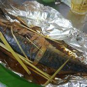 cá sapa nướng giấy bạc