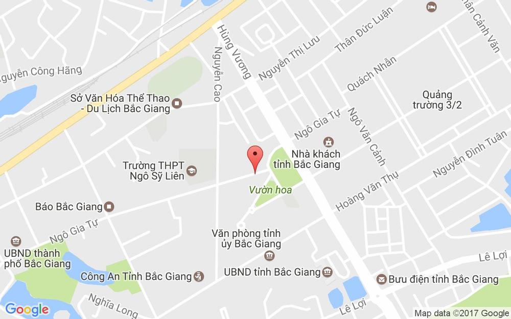 Vị trí bản đồ 167 Ngô Gia Tự, P. Ngô Quyền Tp. Bắc Giang Bắc Giang