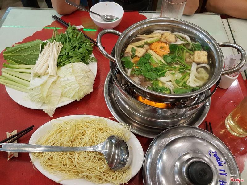 Lẩu Việt hoa