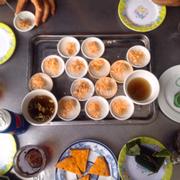 Bánh bèo chén + Chả tôm + Bánh lọc