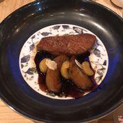 Gan Ngỗng 245+ ăn với đào nấu mềm và đậu phộng hazelnuts