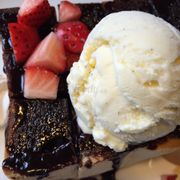 Toast chocolate wt Strawberry