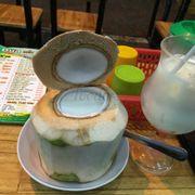 rau câu trái dừa & da ua thạch dừa