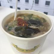 súp cua trứng bắc thảo