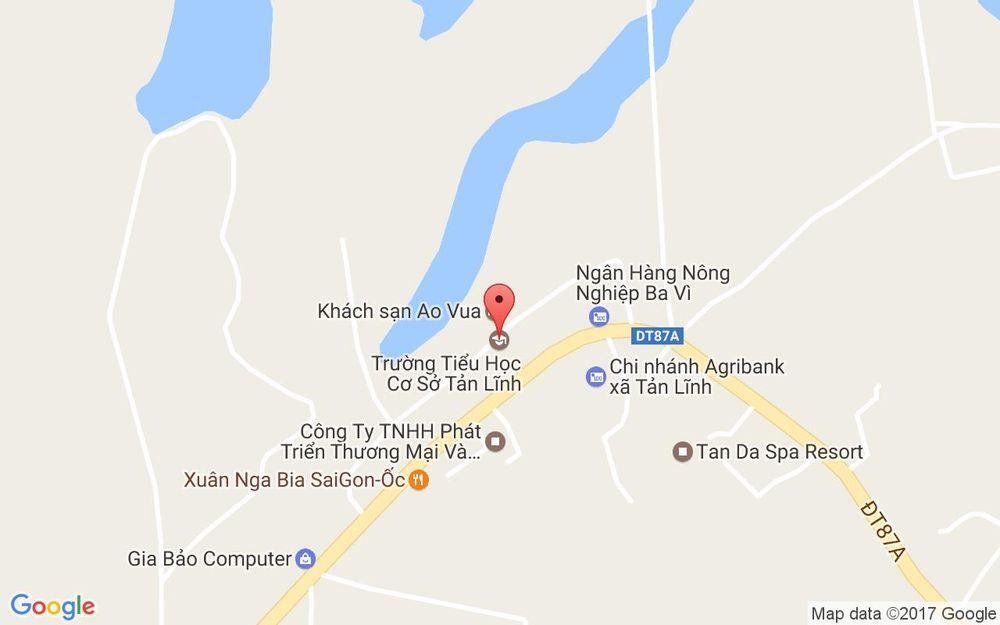 Vị trí bản đồ Khu Du Lịch Sinh Thái Ao Vua ở Hà Nội