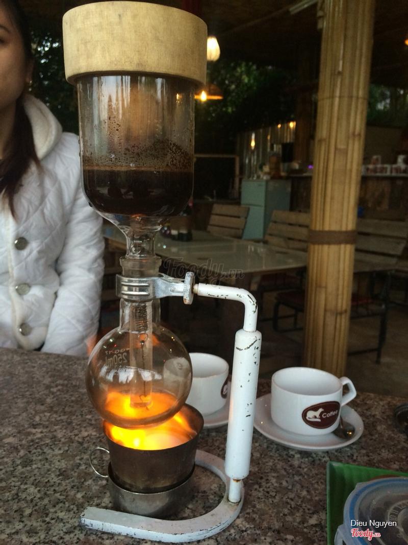 Bình siphon pha cà phê