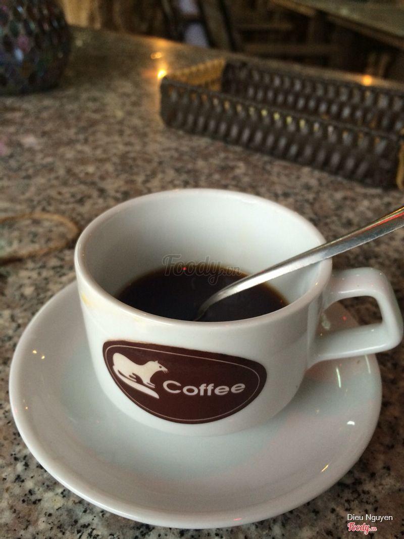 Cà phê sau khi pha