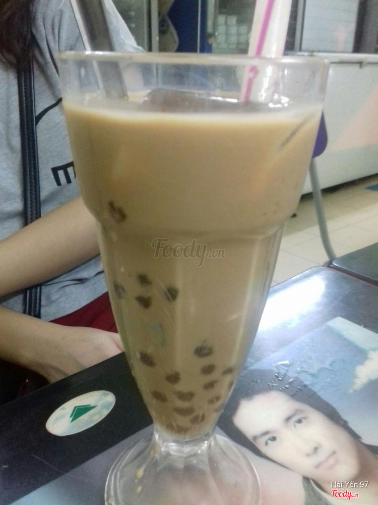 Trà sữa cafe pudding