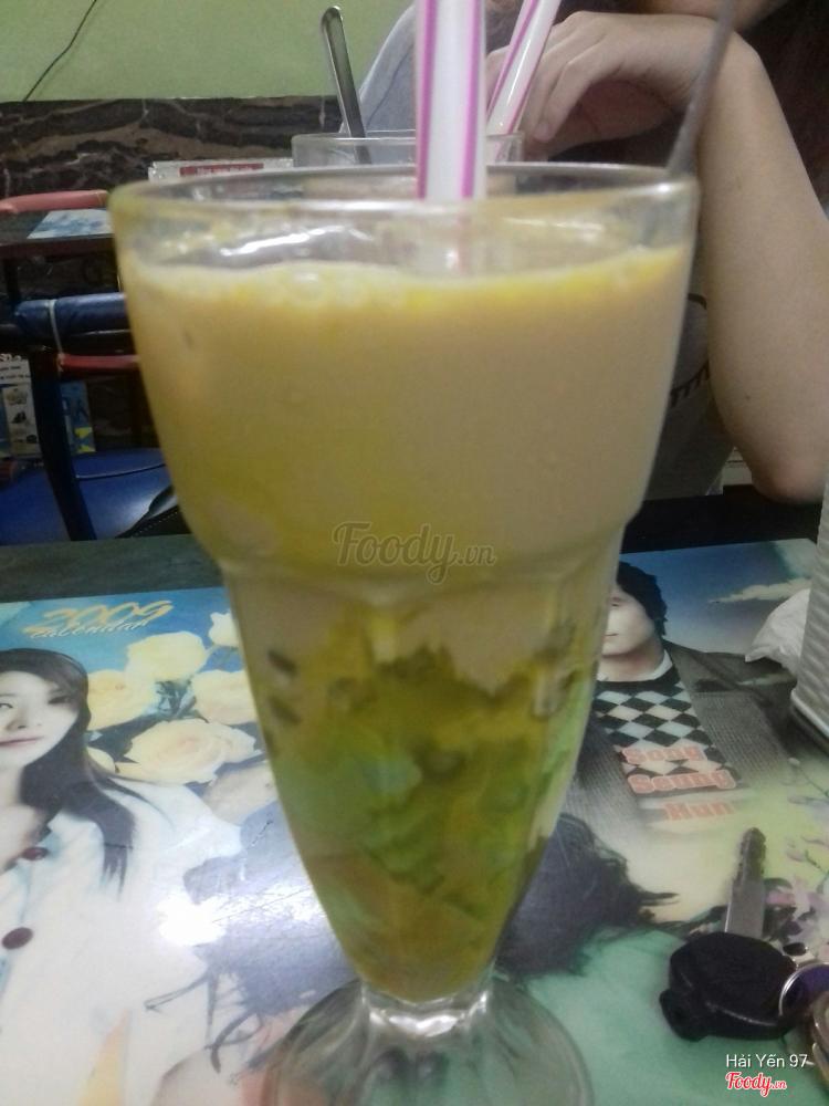 Trà sữa dưa vàng pudding
