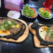 Beefsteak pate trứng