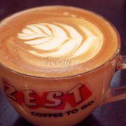 Hot cappuccino art <3