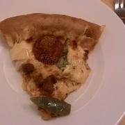 Miếng này là Pizza Nấm