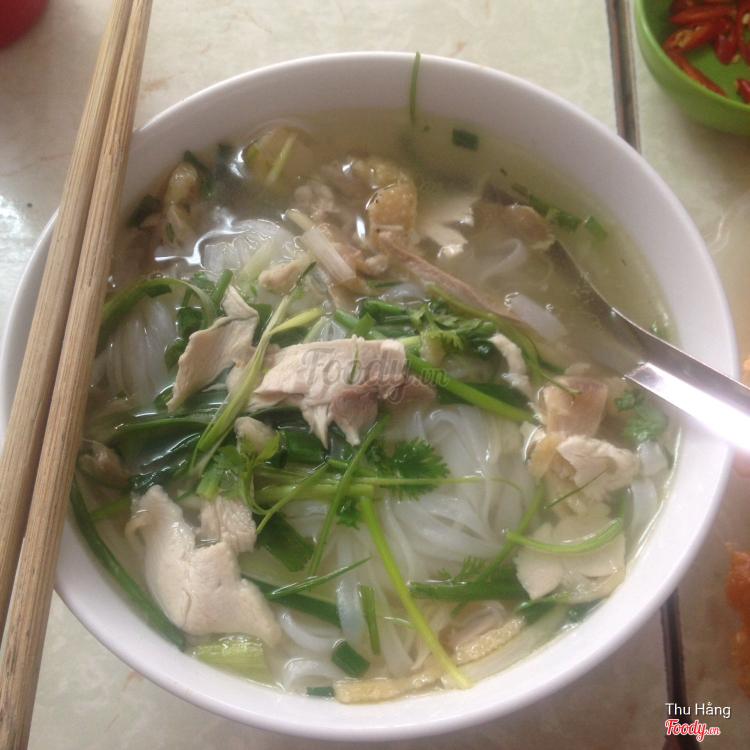Phở Gà Ta 54A - Phở ngon đặc biệt đường Vũ Trọng Phụng ở Hà Nội