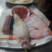 cá, mực, lươn