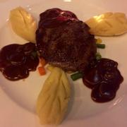 Steak sốt nấm