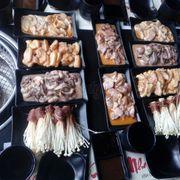 Phong phú, các món nướng kiểu BBQ