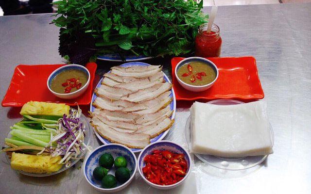 Gạch Quán - Bánh Tráng Cuốn Thịt Heo