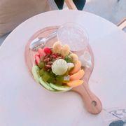Kem hoa quả
