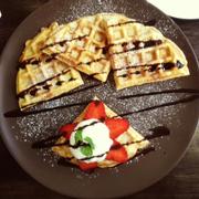 Waffle Kem Vani