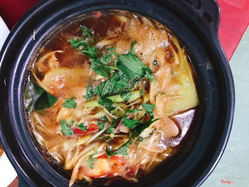 Ngao nấu Thái