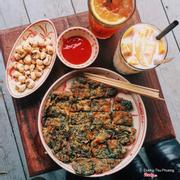 Bỏng ngô, trứng ngải, trà cam sả, xoài sữa chua cốt dừa