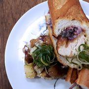Chicken Schnitzel Baguette