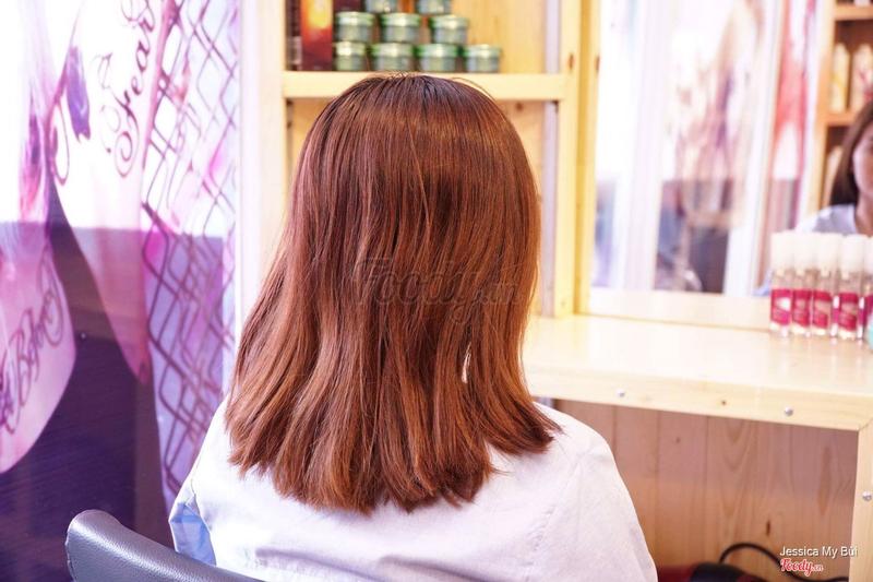 Tóc trước khi làm