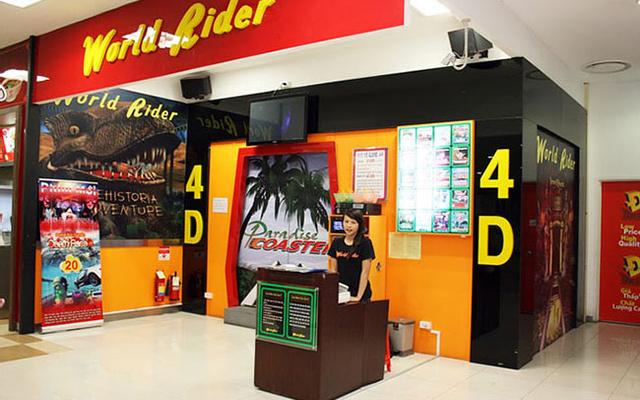World Rider 4D - Vincom Center Phạm Ngọc Thạch