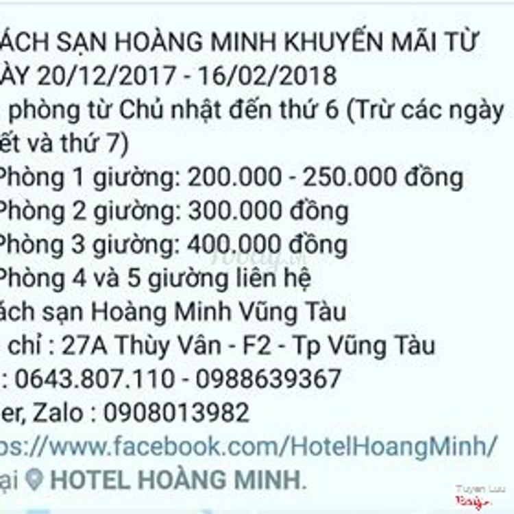 Hoàng Minh Hotel ở Vũng Tàu