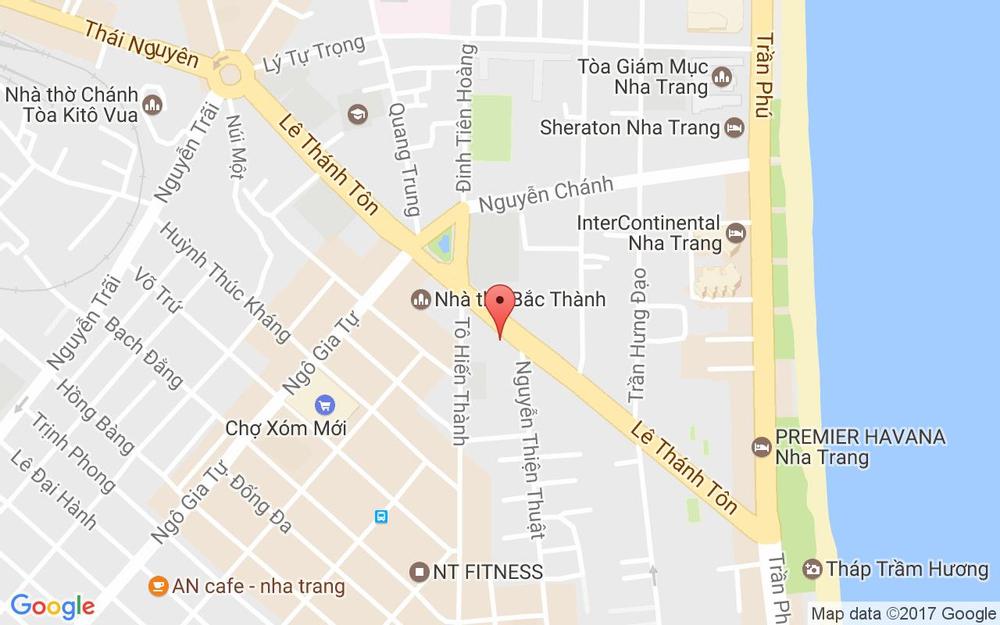 Vị trí bản đồ 19 Lê Thánh Tôn Tp. Nha Trang Khánh Hoà