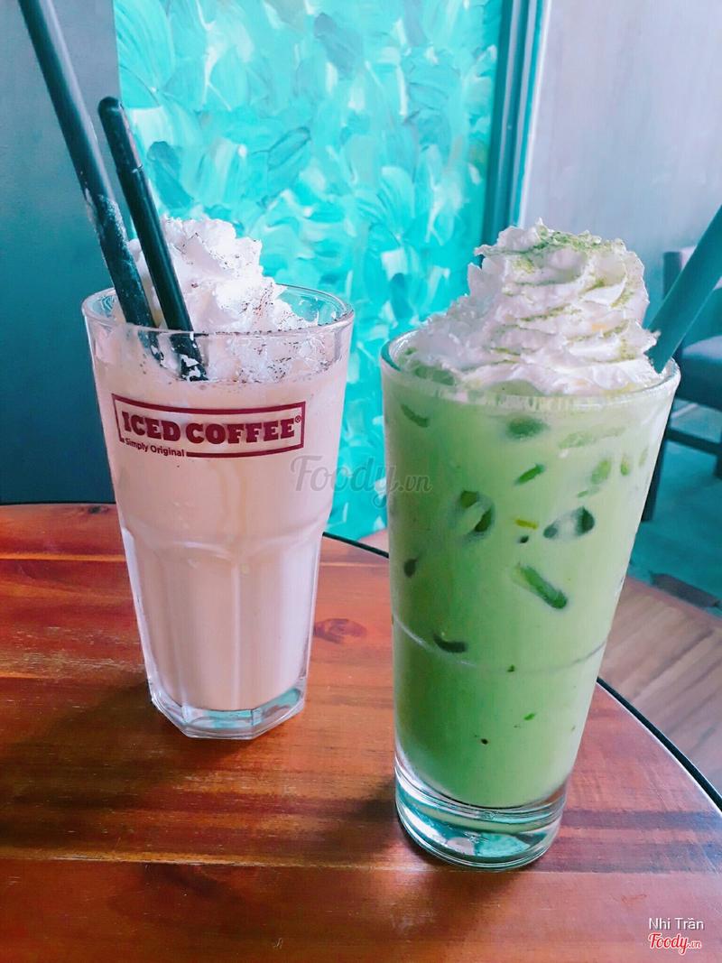 Iccino Coffee + Matcha Latte