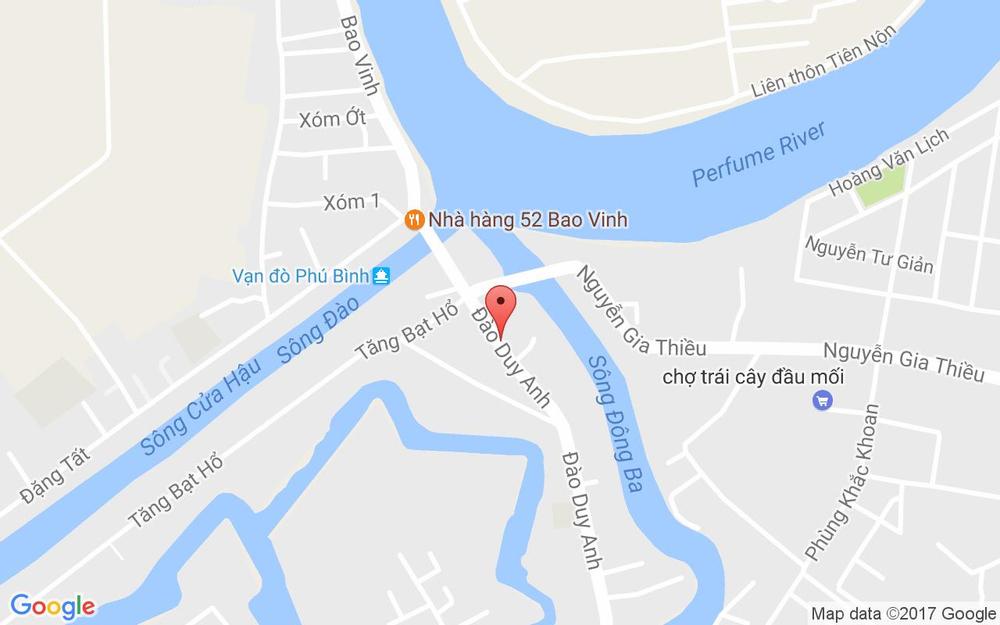 Vị trí bản đồ Lan - Bánh Canh Cá Lóc, Cá Rô - Đào Duy Anh ở Huế