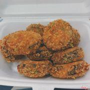 Cơm cuộn rong biển chiên