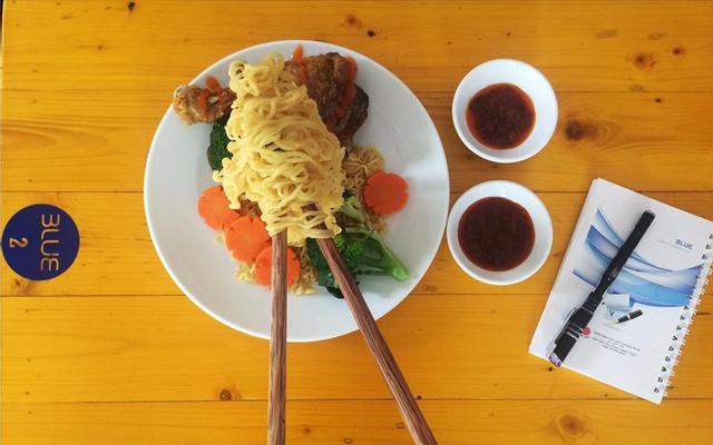 Blue - Food & Drink