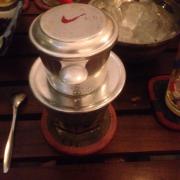 Cà phê sữa phin