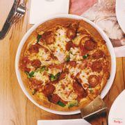 Deluxe pizza size M đế dày