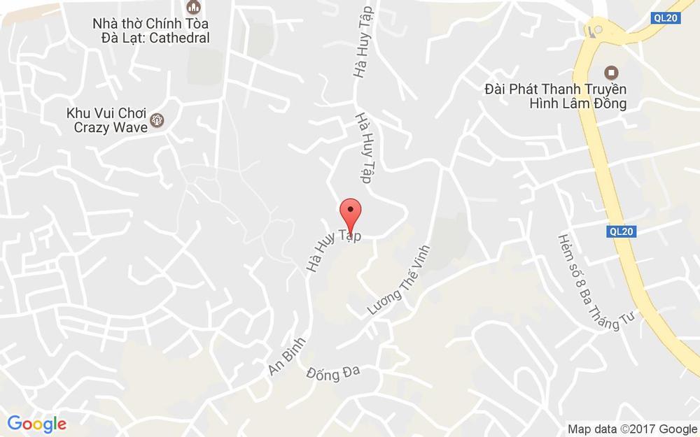 Vị trí bản đồ Nam Quang Hotel ở Lâm Đồng